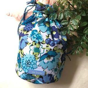 VERA BRADLEY • lighten up mini ditty bag blueberry